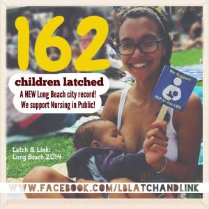 """Great Long Beach Latch"" at last year's Latch & Link event"