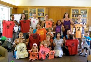 The volunteer 562 Breastfeeds Crew at Latch & Link 2015.